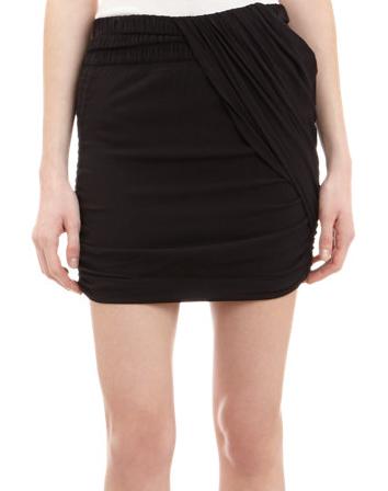 IRO Drape-Front Estrela Skirt