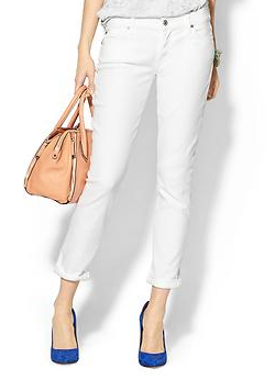 7 For All Mankind Josefina Roll Up Jeans