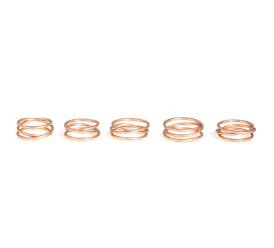 Cher Coulter x StyleMint Halo Rings