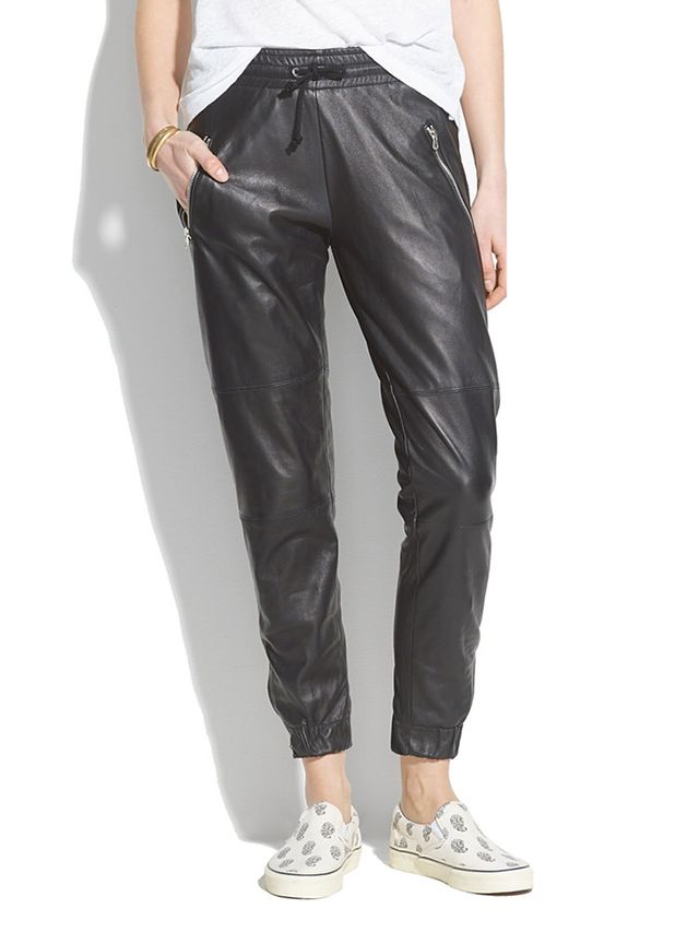 Laer Leather Zip Pants