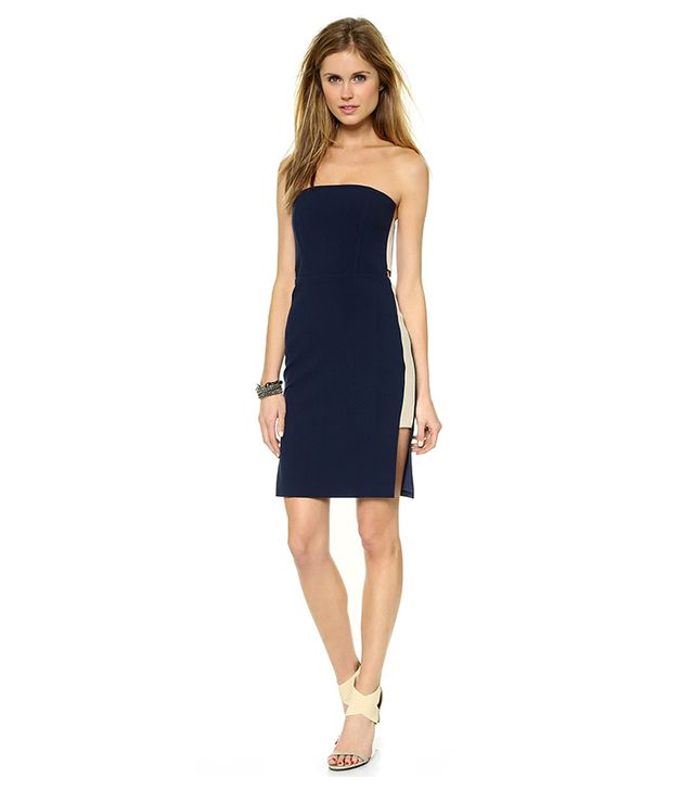 Mason by Michelle Mason Strapless Dress