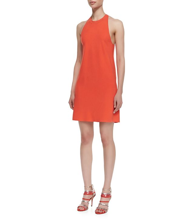 Theory Wellra Mega Crossback Dress