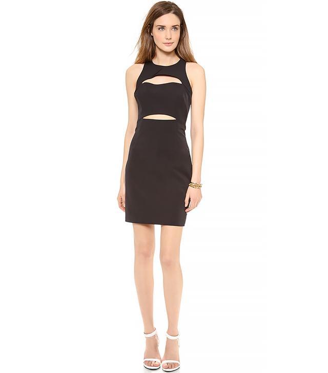Milly Racer Cutout Dress
