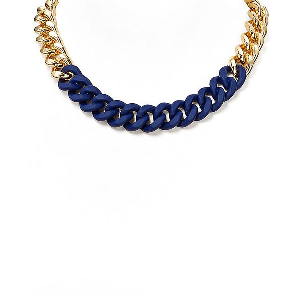 ABS by Allen Schwartz Wrapped Chain Necklace