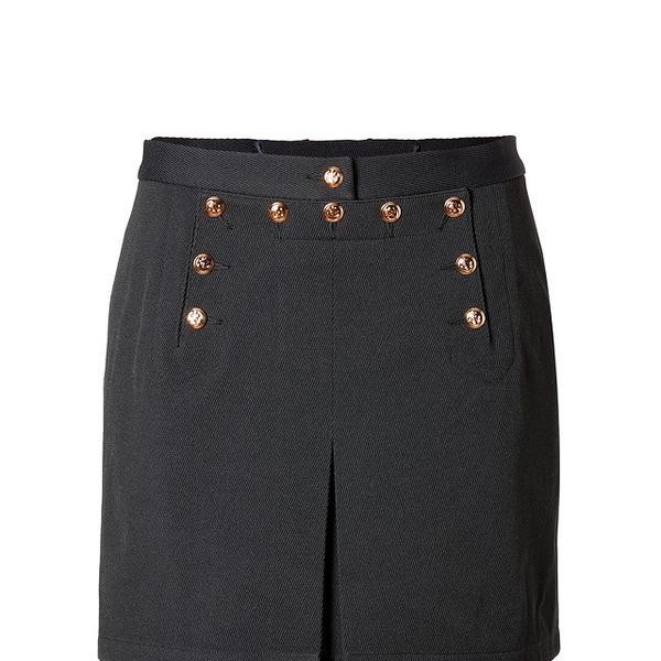 McQ Alexander McQueen McQ Alexander McQueen Marine Mini Skirt in Dark Navy