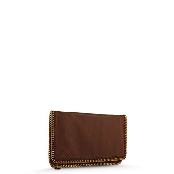 Stella McCartney Falabella Shaggy Deer Fold Over Clutch