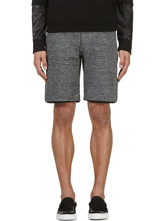 Surface To Air Marled Grey Axel Shorts