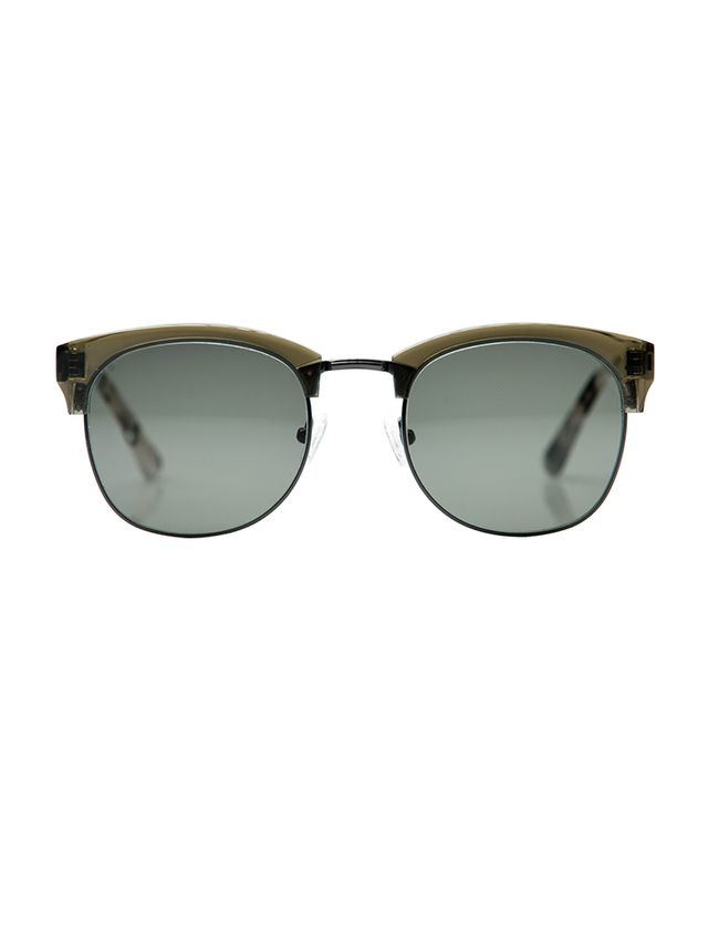 Krewe LGD Split Tone Sunglasses in Olive Camo