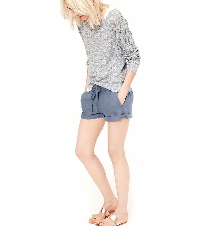Lou & Grey Linen Shorts