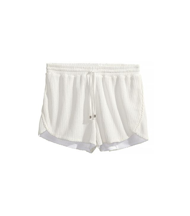 H&M Openwork-Patterned Shorts