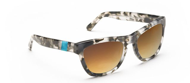 Westward \\ Leaning x Olivia Palermo Sea Glass Sunglasses