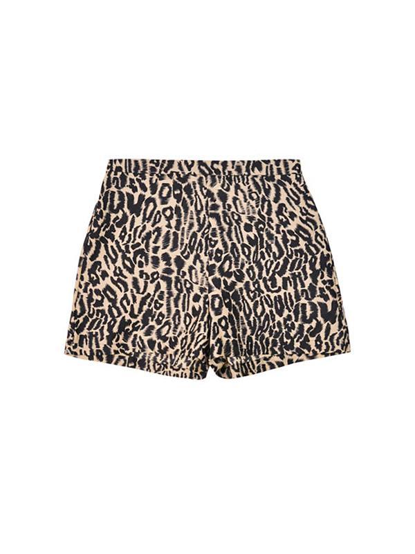 Wren Leopard Shorts