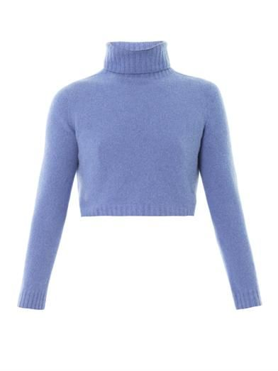 The Row Nenette Merino High-Neck Sweater