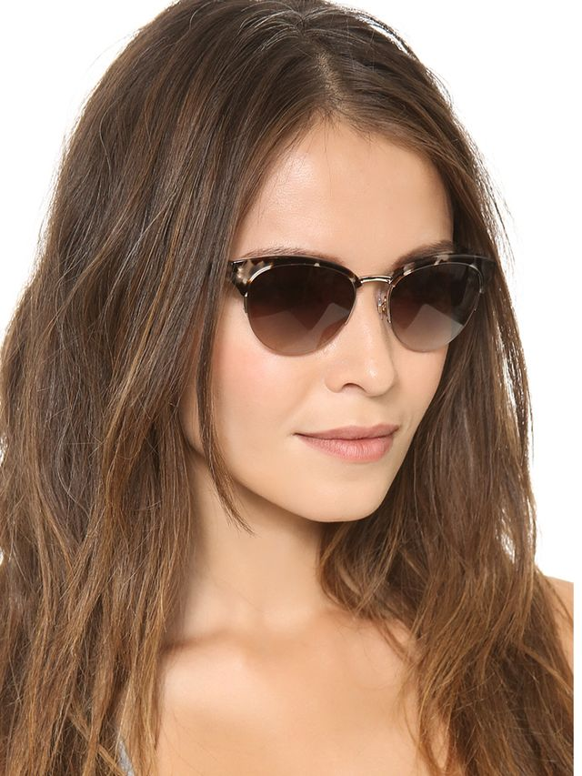 Kate Spade New York Ziba Cat Eye Sunglasses
