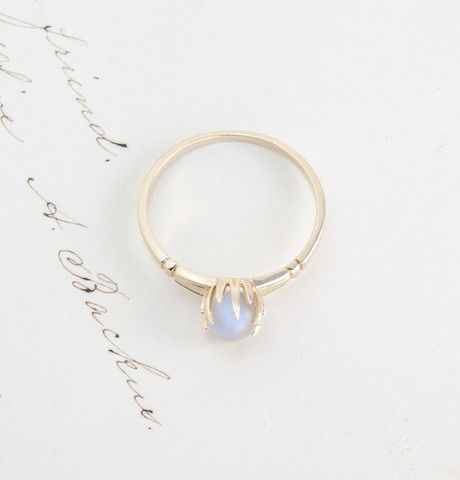 Erica Weiner Moonstone Crystal Ball Ring