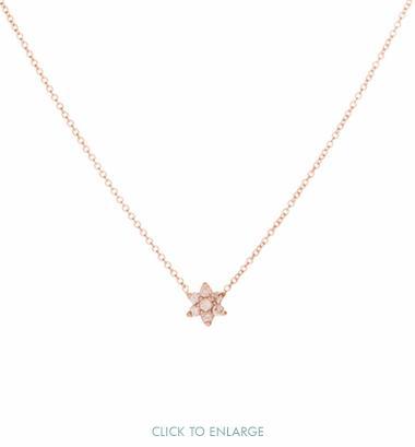 Ariel Gordon Mini Diamond Floret Necklace