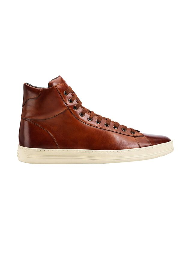 Tom Ford Russel Leather High Tops