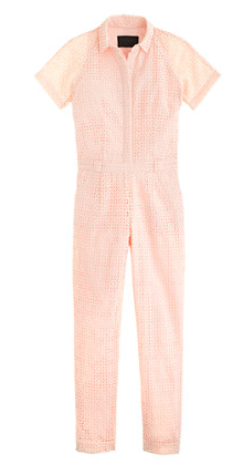 J. Crew Collection Eyelet Jumpsuit
