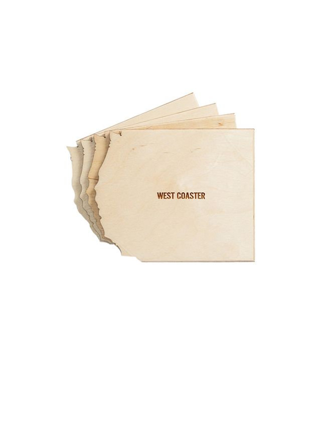 Reed Wilson Design East/West/North/Gulf Coaster Coasters