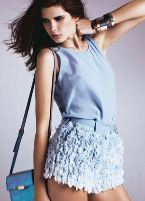 10 Ways To Wear Blue-On-Blue From Marie Claire France