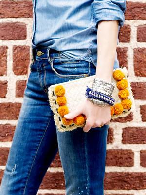 Meet Our Favourite Summer Accessory: The Pom Pom Bag