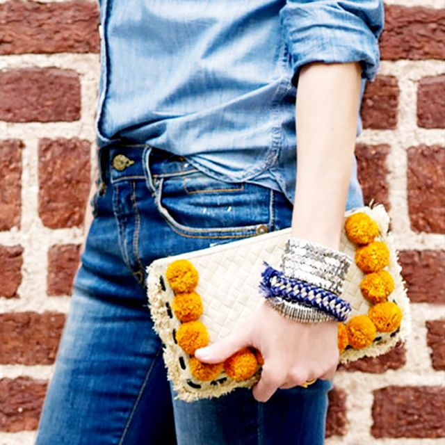 Meet Our Favorite Summer Accessory: The Pom Pom Bag