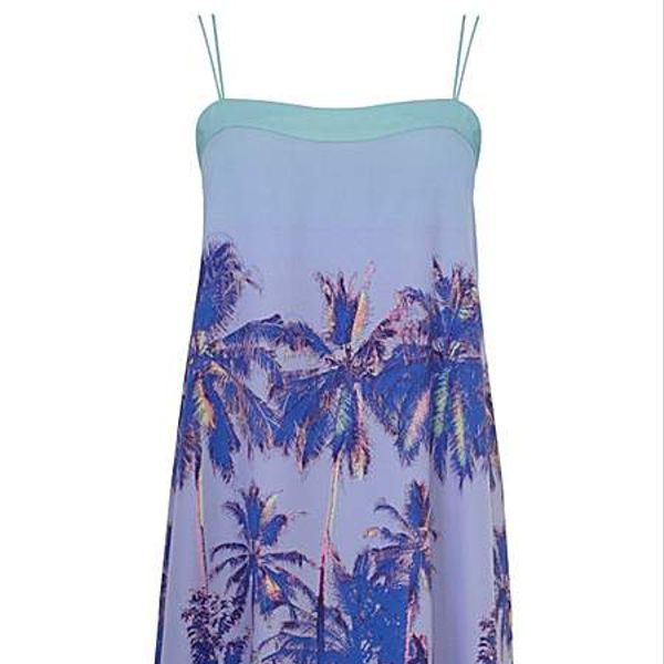 Coast Heloise Palm Tree Cami Dress