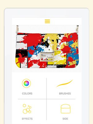 Dream Come True: Design Your Own Fendi Baguette With This Amazing App