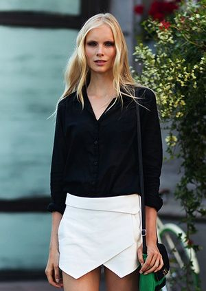 7 Black And White Summer Looks