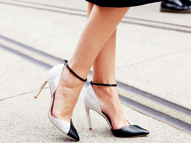 #TuesdayShoesday: Shop Our Favorite Two-Tone Heels