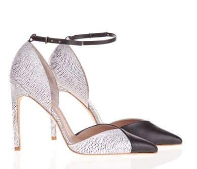 The Mode Collective Ankle Strap Point Heels