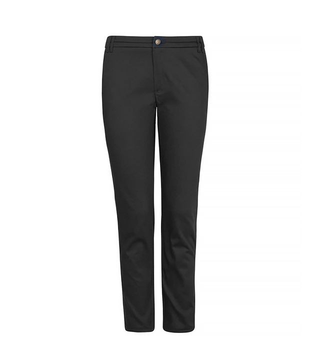 Mango Cotton Cropped Trousers