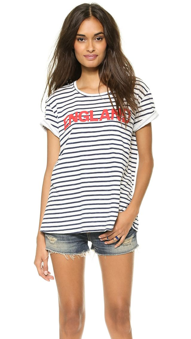 TEXTILE Elizabeth and James Striped Bowery Tee