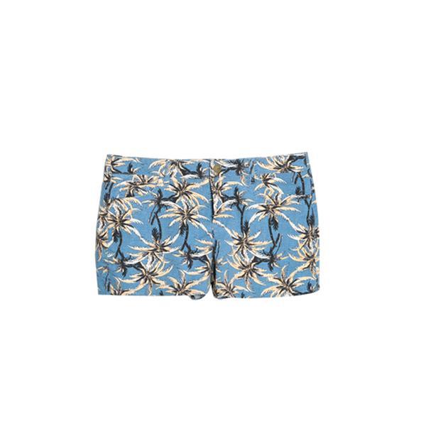 Mango Palm-Print Shorts