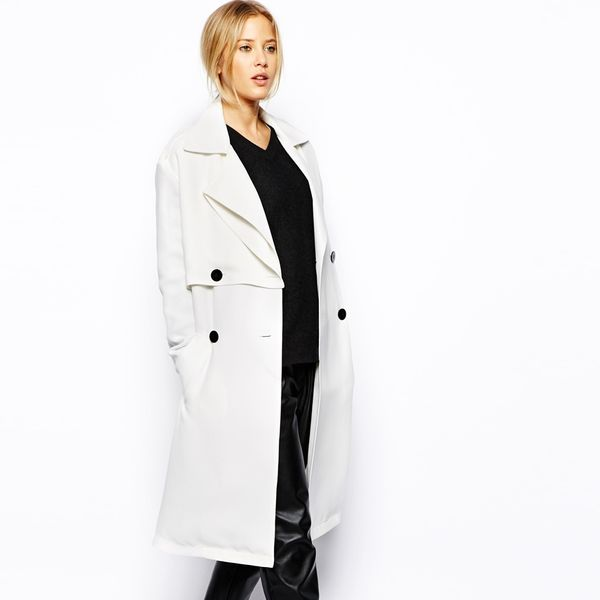 ASOS Double Breasted Trench