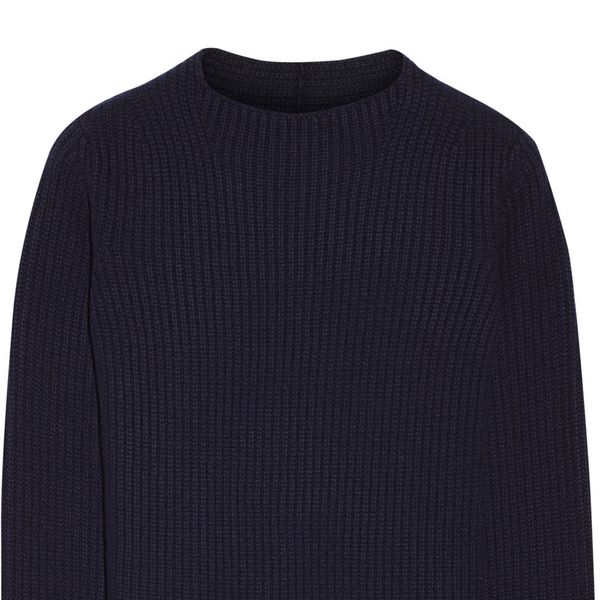 The Row Insemenia Merino Wool and Cashmere-Blend Sweater