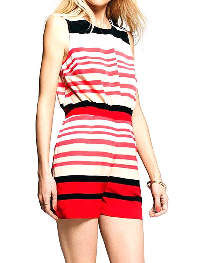 Peter Som for DesigNation Striped Romper