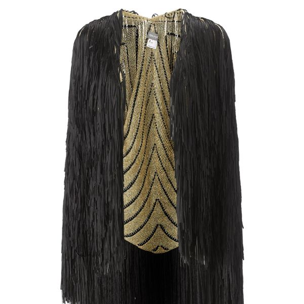 Tim Ryan Gold Lurex Fringed Jacket