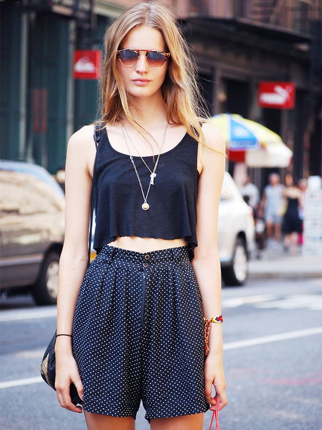 The Secret To Looking Taller Without Heels