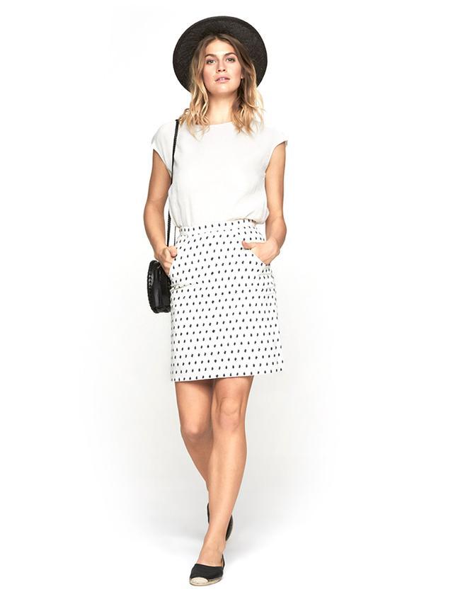 A.P.C. Jacquard Jupe Stricte Skirt