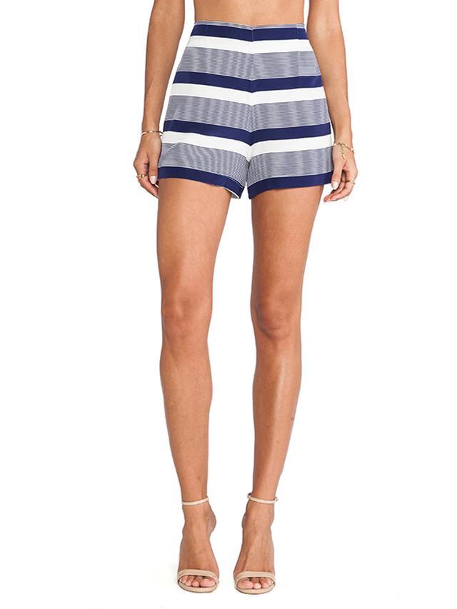 Amanda Uprichard High Waisted Shorts