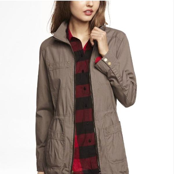 Express Cotton Anorak Jacket