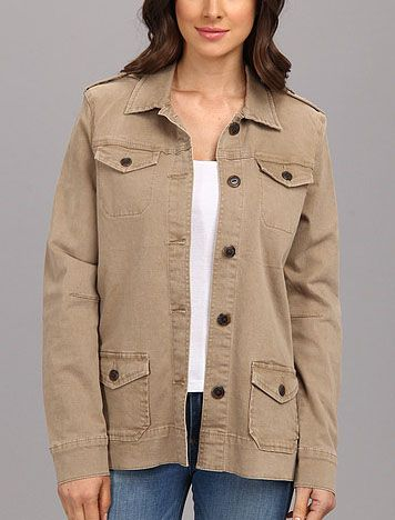 Jag Jeans Ginger Classic Fit Military Jacket