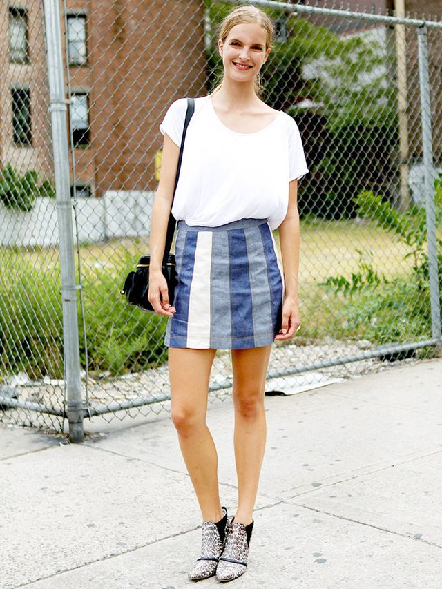 Tip of the Day: Statement Skirt
