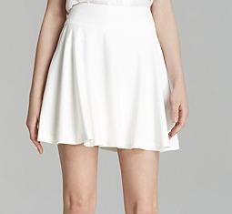 Alice + Olivia Luann Flare Skirt