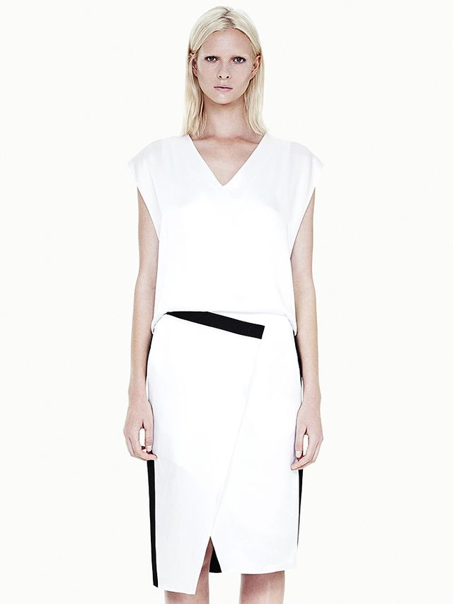 Helmut Lang Quantum Contrast Dress