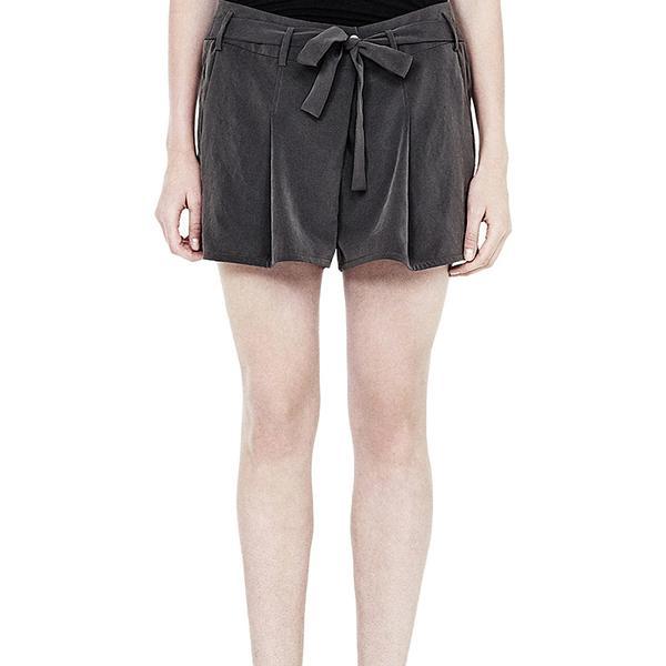 Helmut Lang Terra Pleated Shorts