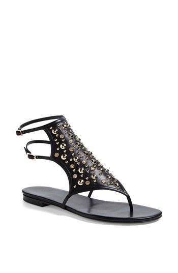 Tamara Mellon Heavy Metal Sandals