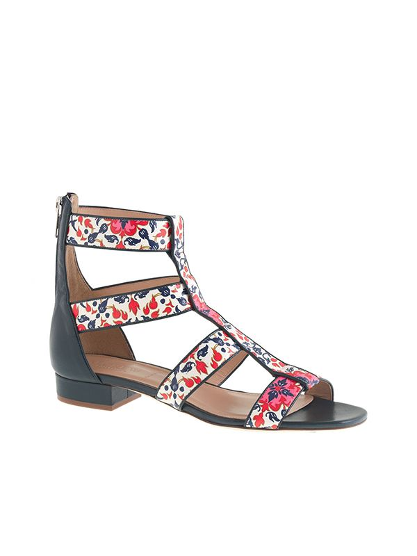 J.Crew Collection Printed Gladiator Sandals