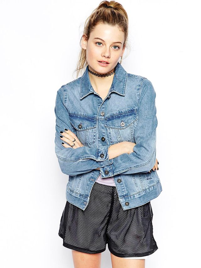 ASOS Ragged Priest Utah Denim Jacket